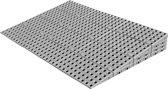 Drempelhulp Binnen - 7,4 t/m 9 cm (H) x 75 cm (B) - Verstelbare Oprijplaat / Drempelplaat - Oprijhelling - Set 4