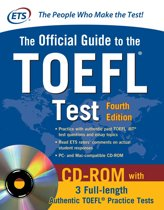 Omslag van 'Official Guide to the TOEFL Test'