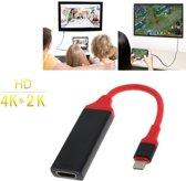 4K Type C Adapter naar HDMI support 1080p voor Nintendo Switch, Surface Book, Macbook Pro, Razer, XPS, Yoga, Spectre, Zenbook, S