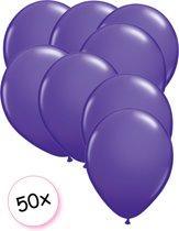 Ballonnen Paars 50 stuks 27 cm