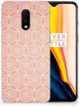 OnePlus 7 TPU bumper Pattern Orange