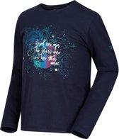 Regatta -Wendell - Outdoorshirt - Kinderen - MAAT 128 - Blauw