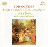 Boismortier: Flute Sonatas Op 91 / American Baroque