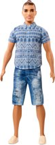 Barbie Ken Fashionistas Distressed Denim - Barbiepop