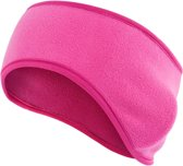 Fleece Oorwarmer Band - sport hoofdband - Hoofdband Winter - Dames / Heren - Roze