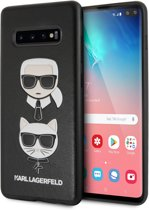 Karl Lagerfeld Hard Case do Samsung Galaxy S10+ czarny/Karl & Choupette
