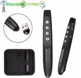 Professionele Draadloze Wireless USB Presenter Pen Met Rode Laser Pointer - Windows & Mac Compatible - PowerPoint Afstandsbediening - 20 Meter Bereik - Met Opbergetui