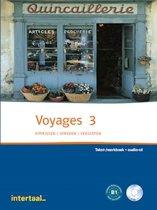 Voyages 3 tekst-/werkboek + audio-cd (1x)