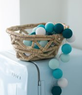 Cotton Ball Lights Lichtslinger Aqua - 35 cotton balls
