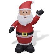 vidaXL Opblaasbare kerstman 120 cm