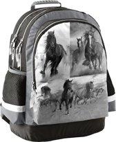 Animal Pictures Paarden Rugzak - 42 cm - Grijs