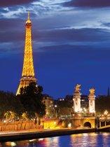 Fotobehang The Eiffel Tower | XXL - 206cm x 275cm | 130g/m2 Vlies