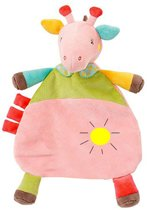 bcd98e000afb02 JillyBee - Knuffel - Baby - Kind - Slaapknuffel - Koe - Kraamcadeau -  Multicolor -