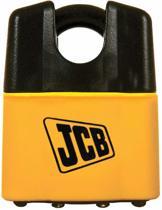 JCB hangslot met gesloten beugel, veiligheidsklasse 7