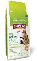Smolke kat adult graanvrij kattenvoer 2 kg