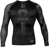 Venum Rashguard Logos Long  Sleeve Zwart Medium