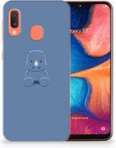 Samsung Galaxy A20e TPU Hoesje Baby Rhino