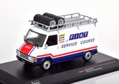 Fiat 242 ( Fiat France Service Course ) 1979 Wit / Blauw / Rood 1-43 Ixo Models