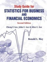 Study Guide For Statistics For Business And Financial Economics