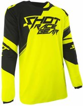 Shot Crossshirt Contact Claw Neon Yellow-XXL