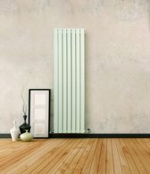 Sanifun design radiator Boston 2000 x 480 Wit