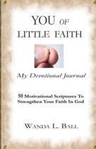 You of Little Faith, My Devotional Journal