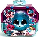 Fur Balls Aqua - Miniknuffel - 3 Assorti