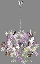 Trio Lighting FLOWER - Hanglamp - E14 fitting, 40W max - Chroom