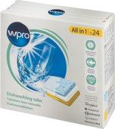WPRO - Vaatwassertabletten all-in-1 - 24 stuks