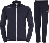 Uhlsport Essential Classic  Trainingspak - Maat XXL  - Mannen - blauw/wit