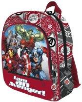 The Avengers rugzak  / grote rugzak 41cm met 3 vakken. / goede en stevige kwaliteit!  Te groot voor kleuters!