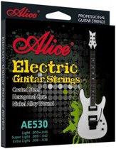 Professionele snaren voor de elektrische gitaar set .010 Nickel Alloy met anti roest coating