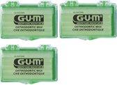 GUM Orthodontic Wax - 3 stuks - Voordeelverpakking