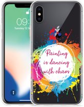 Apple iPhone Xs Max Hoesje Painting