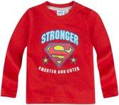 Superbaby-T-shirt-met-lange-mouw-rood-maat-3-6-mnd