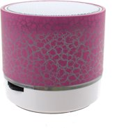 Kamparo Bluetooth Speaker Colour Changing 6 Cm Roze