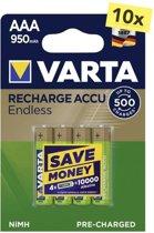 Varta Oplaadbare AAA batterij 950 mAh - 40 stuks