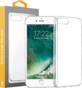iPhone 7 / 8 Transparant Silliconen TPU Hoesje Cover Case
