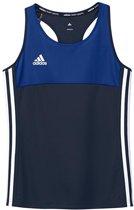 Adidas T16 Climacool Sleeveless Tee Jeugd Meisjes Navy - Maat: 152