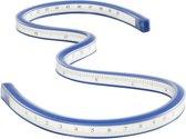 Flexibele liniaal, l: 50 cm, 1stuk