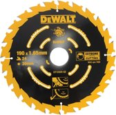DeWalt DT10304 Extreme Cirkelzaagblad - 190 x 30 x 24T - Hout (Met nagels)