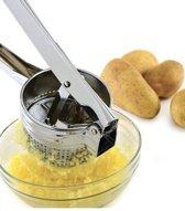 Aardappel pers - Aardappelpers - Pureeknijper -  Pureepers - Aardappelpers RVS - Verse Aardappelen Persen