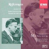 Bartok: Violin Concerto no 2, Sonata for solo violin / Menuhin et al