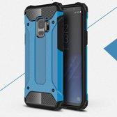 Samsung Galaxy S9 Armor Hybrid Case - Lichtblauw