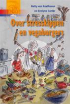 Over stresskippen en vegaburgers