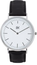 BK AMSTERDAM - Classic White Dam Horloge