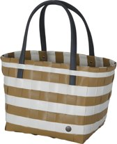 Handed By Color Block Vintage - Shopper - Camel