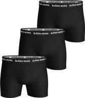 Bjorn Borg Boxershort 1-Pack Noos Solids Mid Zwart