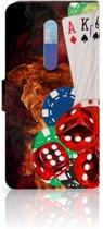 Xiaomi Redmi K20 Pro Wallet Case met Pasjes Casino