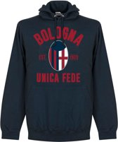 Bologna Established Hooded Sweater - Navy - S
